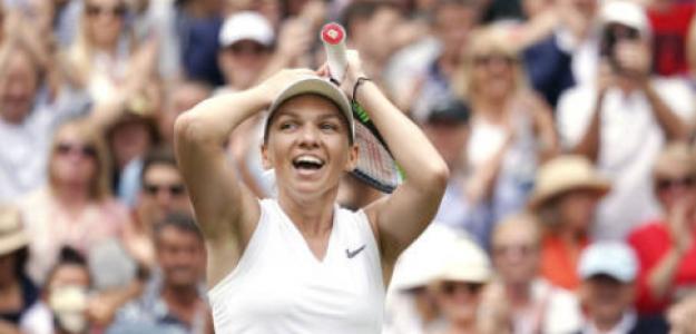 Halep quiere repetir el título en Wimbledon. Foto: Getty