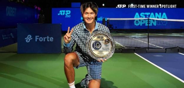 SoonWoo Kwon, primer título ATP. Foto: gettyimages