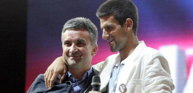 El padre de Djokovic y el complejo de Aristóteles. Foto: Eurosport