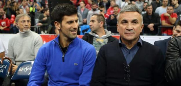 Srdjan Djokovic junto a Novak, habla de Wimbledon 2019. Foto: gettyimages