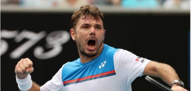 Stan Wawrinka gana a Daniil Medvedev en Open Australia 2020. Foto: gettyimages