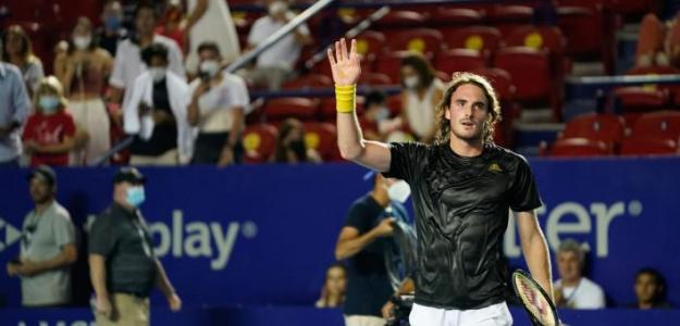 Stefanos Tsitsipas, declaraciones en ATP 500 Acapulco 2021. Foto: gettyimages