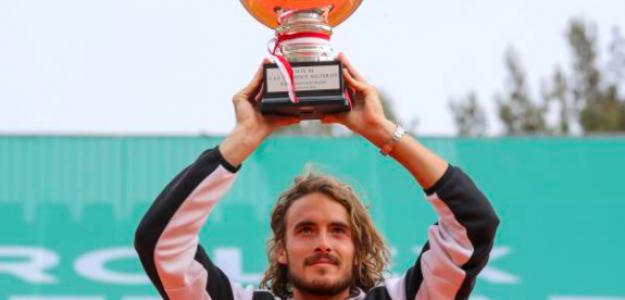 Stefanos Tsitsipas, campeón en Montecarlo. Fuente: Getty