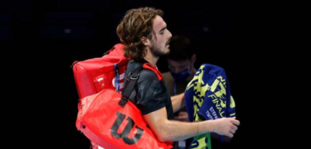 Stefanos Tsitsipas valora derrota ante Nadal en Nitto ATP Finals 2020. Foto: gettyimages