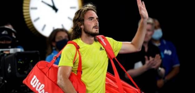 Stefanos Tsitsipas. Foto: Getty Images