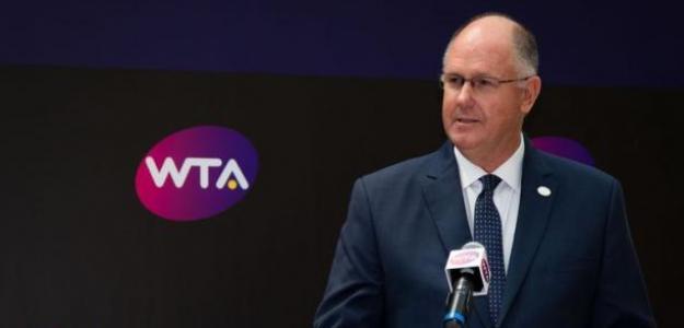 Steve Simon, CEO WTA, habla del coronavirus
