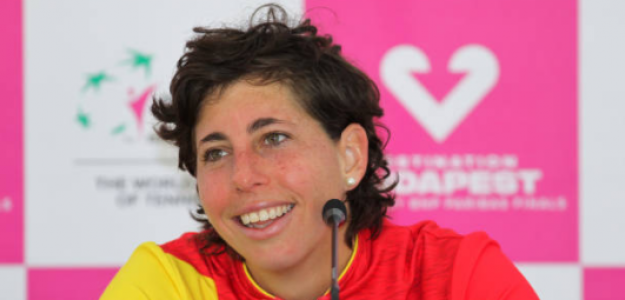 Carla Suárez. Fuente: Getty