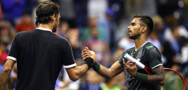 Sumit Nagal explica lo que sintió al enfrentar a Federer en la Arthur Ashe. Foto: Getty