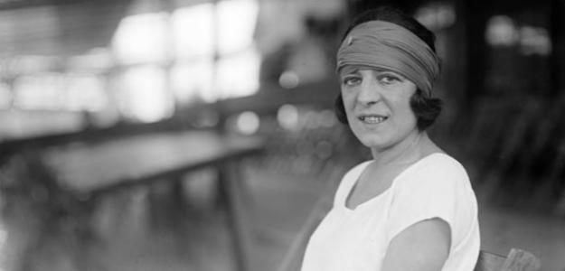 Suzanne Lenglen, la leyenda. Fuente: Getty