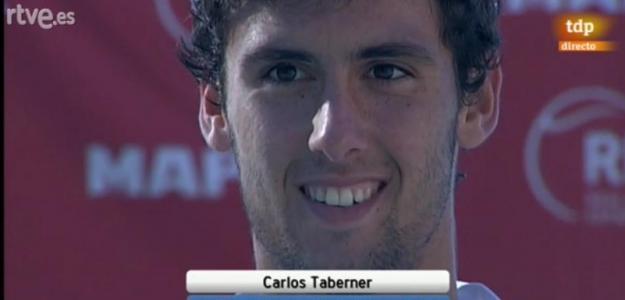 Taberner tras proclamarse campeón de España