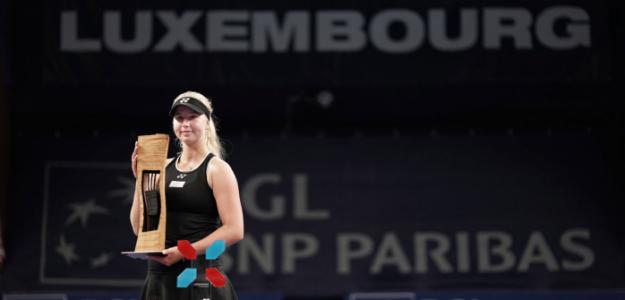 Tauson, campeona en Luxemburgo. Fuente: BT