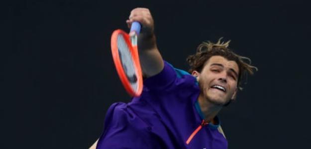El sempiterno prometedor americano dispuesto a dar la campanada contra Djokovic. Fuente: Getty