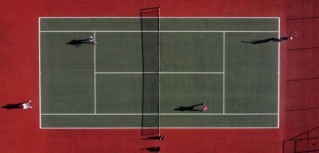 El tenis, un deporte sin público durante la pandemia. Fuente: Getty