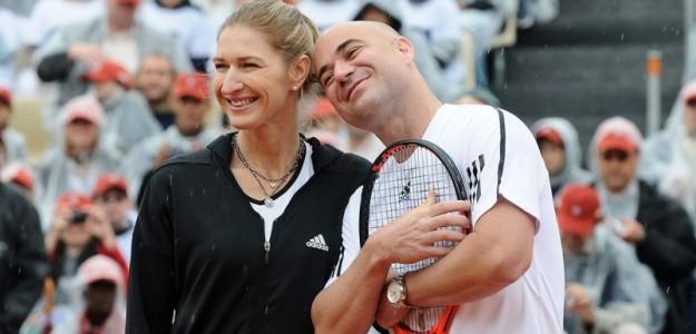 Tenistas ganadores del Golden Slam. Foto: gettyimages