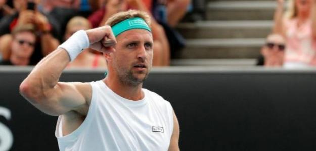 Tennys Sandgren, positivo por COVID-19 en Open Australia 2021. Foto: gettyimages