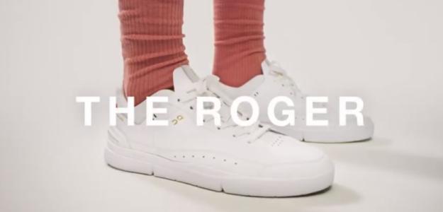 Federer presenta 'The Roger', su primera línea de zapatillas. Foto: On