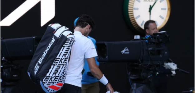 Thiem derrotado en Open de Australia 2021. Foto: gettyimages