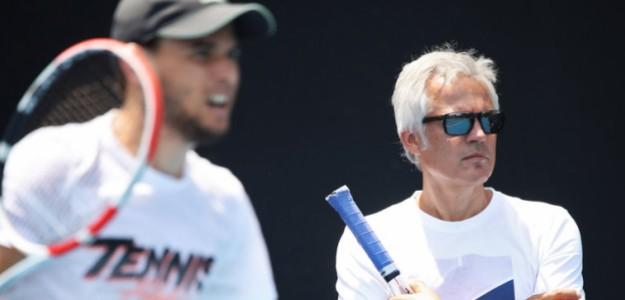 Dominic Thiem y Alex Stober. Fuente: Tennis.net