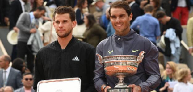 Dominic Thiem habla de lo que supone jugar con Nadal en Roland Garros. Foto: gettyimages