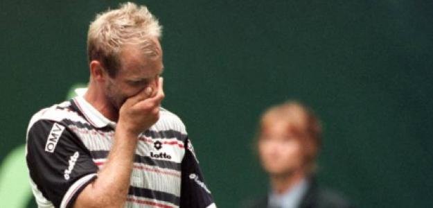 Thomas Muster nunca ganó un partido en Wimbledon. Fuente: Getty
