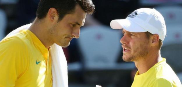 Sigue el lío en el tenis australiano con la ya eterna disputa entre Tomic y Hewitt.