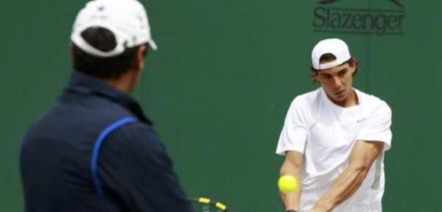 Toni Nadal, primera vez que vio a Novak Djokovic. Foto: gettyimages