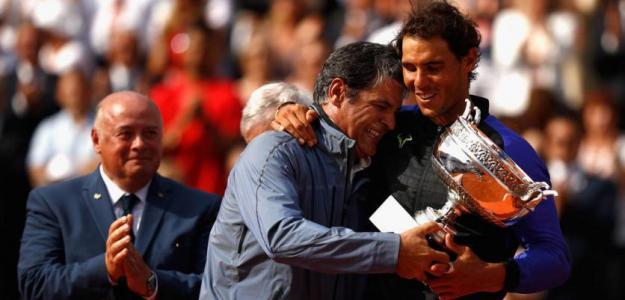 Conferencia de Toni Nadal donde habla de su sobrino Rafa. Foto: Getty
