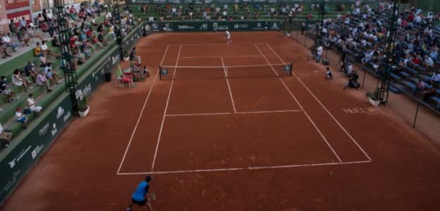 La Pista Central en la Copa del Rey de Tenis, en Huelva. Fuente: Antonio García de la Cruz
