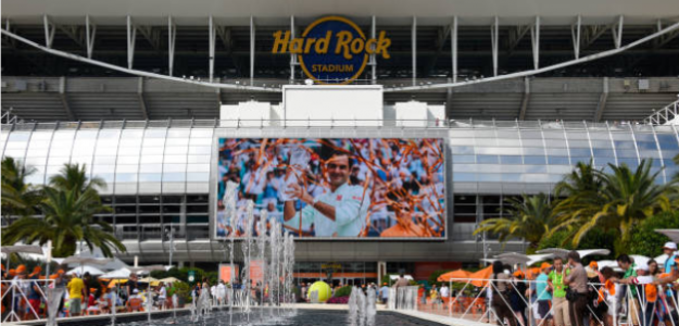 Hard Rock Stadium. Fuente: Getty