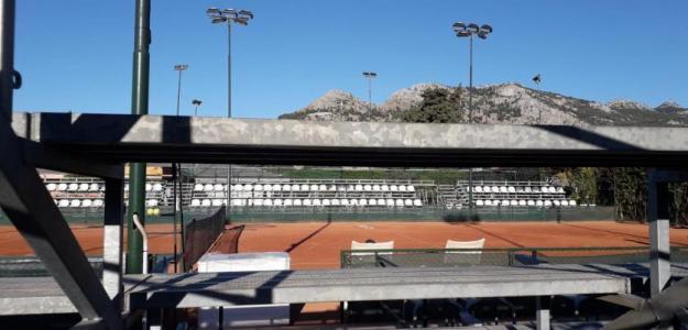 Medidas sanitarias en torneo de Palermo. Foto: gettyimages