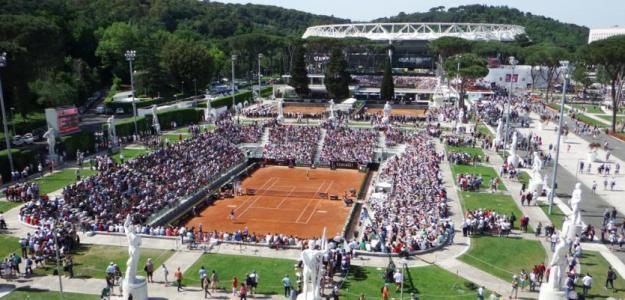 El torneo de Roma corre serio riesgo de desaparecer. Foto: Getty