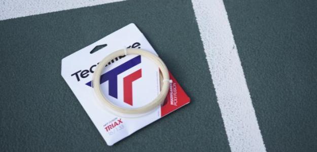 Analizamos a fondo el cordaje Triax de Tecnifibre. Foto: Tecnifibre