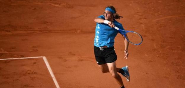 Stefanos Tsitsipas quiere ganar a Nadal en Roland Garros 2021. Foto: gettyimages