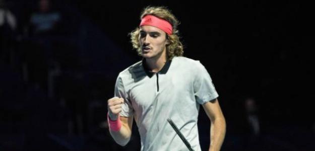 """Tsitsipas: """"Federer, Nadal y Djokovic me hacen mejor jugador"""". Foto: Getty"""