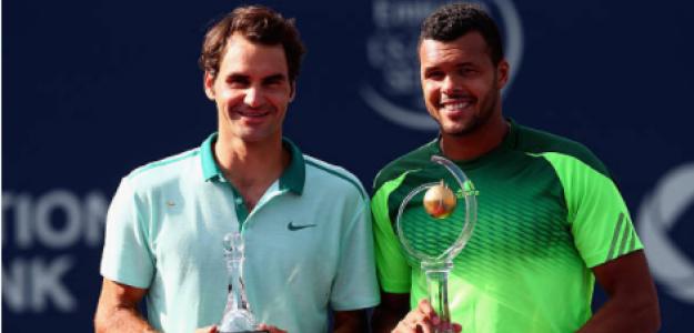 Jo-Wilfried Tsonga, campeón en Canadá tras derrotar a Federer. Fuente: Getty
