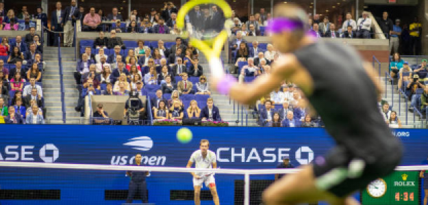 La final del Us Open 2019 entre Nadal y Medvedev. Fuente: Getty