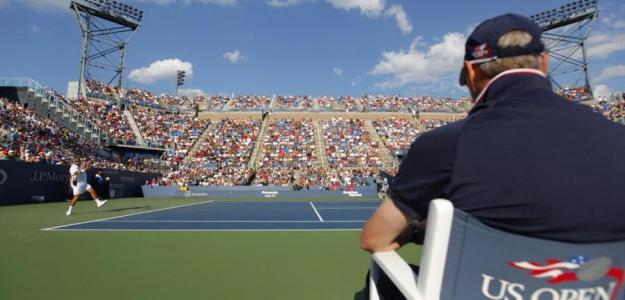 Imagen del court central del US Open