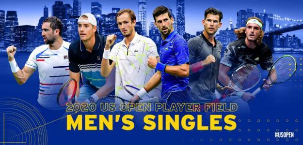 Los favoritos a ganar el US Open 2020. Fuente: US Open