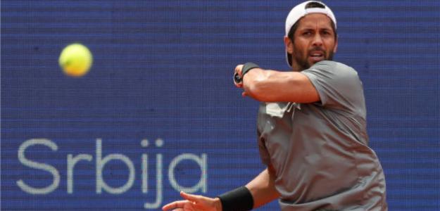 Fernando Verdasco, en el torneo de Belgrado. Fuente: Getty
