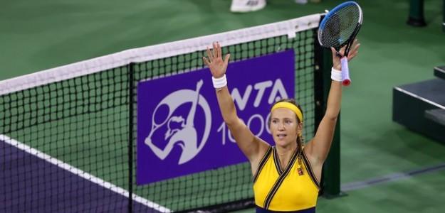 Victoria Azarenka a la final. Fuente: Getty