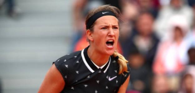 La bielorrusa chocará con Naomi Osaka en segunda ronda de Roland Garros. Foto: Getty