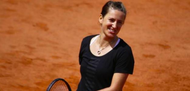 Victoria Azarenka en Roland Garros. Fuente: Getty