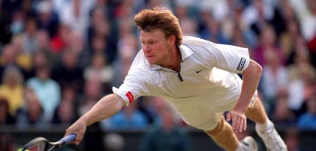 Vladimir Voltchkov, en su duelo de semifinales en Wimbledon 2000. Fuente: Getty