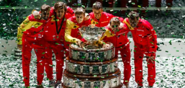 El equipo español de Copa Davis. Fuente: Getty