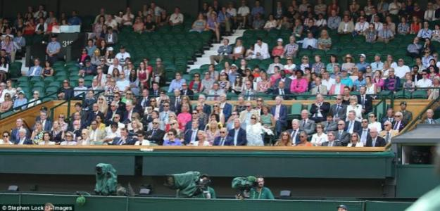 Royal Box, Wimbledon. Foto: Wimbledon