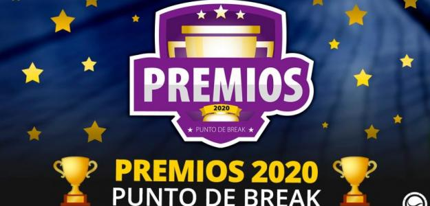 Premios Puntodebreak 2020.