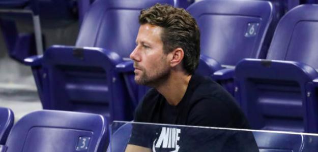 Wim Fissette, entrenador de Naomi Osaka. Fuente: Getty