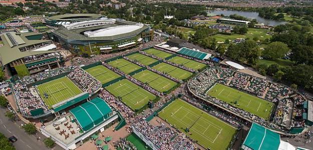 Instalaciones Wimbledon 2020. Foto: gettyimages