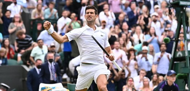 Djokovic quedó a un partido de su título 20 en Grand Slams. Foto: Wimbledon