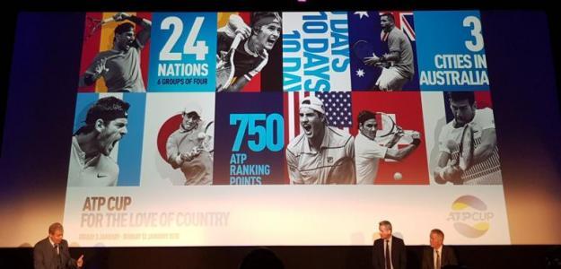 Presentación oficial ATP World Cup. Foto: zimbio